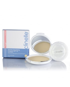 Clinelle Oil Free Smoothing Compact SPF18-Ivory
